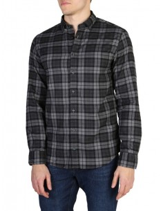 Camisa Tommy Hilfiger plaid grey