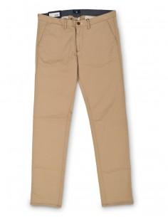 Gant - pantalón chino para hombre slim fit - beige