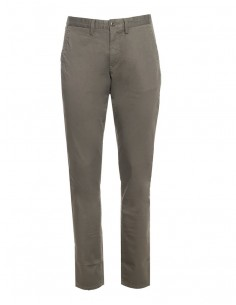 Gant - pantalón chino para hombre slim fit - kaki