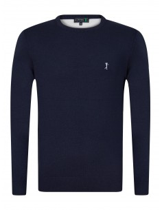 Jersey Sir Raymond Tailor con coderas PATCHER - navy/white