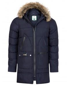 Sir Raymond Tailor abrigo acolchado para hombre - Navy