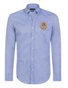 Camisa Sir Raymond Tailor WRISTS - Oxford blue