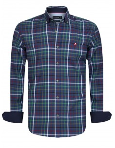 Camisa Sir Raymond Tailor LINKSMAN - navy/green/red