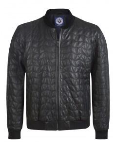 Sir Raymond Tailor chaqueta bomber piel MEMBER - Black