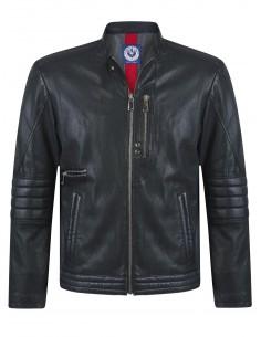 Sir Raymond Tailor chaqueta biker piel STRIKER - black