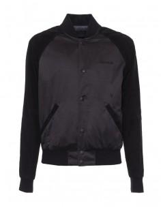Calvin Klein chaqueta beisbolera combinada -black