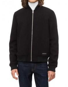 Calvin Klein chaqueta bomber para hombre - blend black