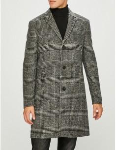 Calvin Klein abrigo para hombre ejecutivo - white/black