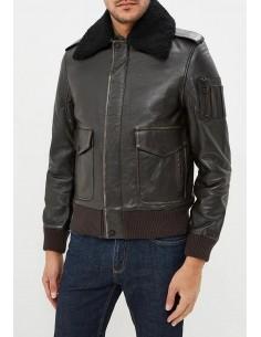 Tommy Hilfiger chaqueta bomber aviador - marrón