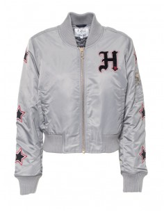 Tommy Hilfiger chaqueta bomber GIGI HADID - plata