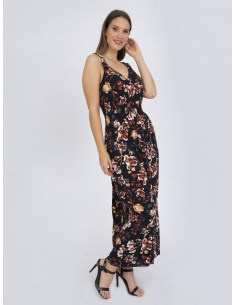 Vestido largo XS a 6XL Sir Raymond Tailor estampado - floral