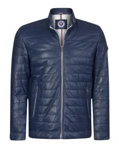 Sir Raymond Tailor chaqueta de piel GERMANY - Indigo