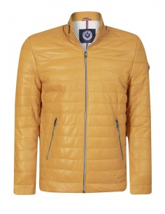 Sir Raymond Tailor chaqueta de piel GERMANY - yellow