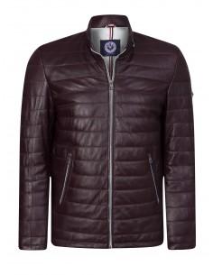 Sir Raymond Tailor chaqueta de piel GERMANY - Burdeos