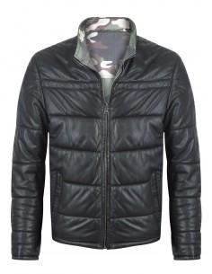 Sir Raymond Tailor chaqueta de piel reversible ARMY - Black/camo