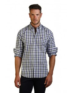 Camisa Time of bocha para hombre regular fit - multicolor