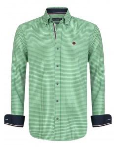 Sir Raymond Tailor camisa para hombre KIRBY - check green