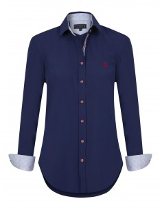 Camisa Sir Raymond Tailor para mujer BELLA - Navy