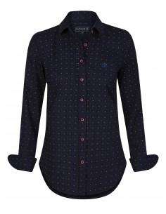 Camisa Sir Raymond Tailor para mujer DONNA - navy