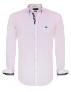 Camisa Sir Raymond Tailor detalles pink