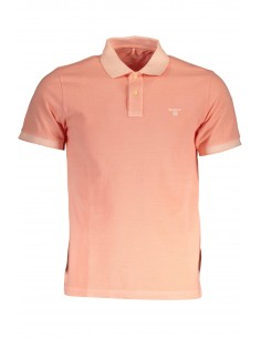 Polo Gant manga corta washed - orange