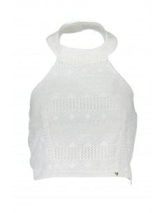 Top Guess Jeans - blanco