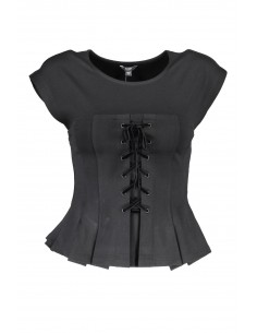 Top Guess Jeans - negro