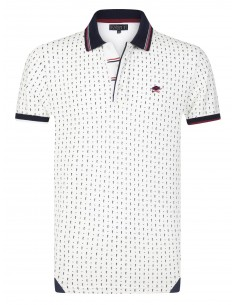 Polo Sir Raymond Tailor para hombre DEEPLY - White