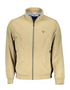 Chaqueta Gant tipo Harrington logo contraste - beige