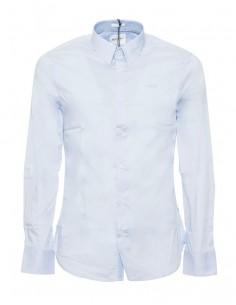 Camisa Guess para hombre manga larga - celeste