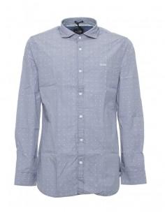 Camisa Guess para hombre manga larga - gris