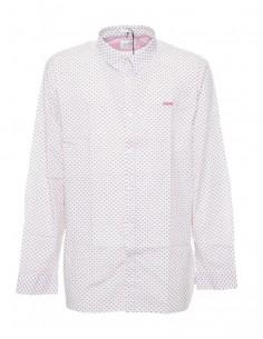 Camisa Guess para hombre manga larga - rosa fantasia