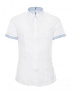 Camisa Guess para hombre manga corta - blanco