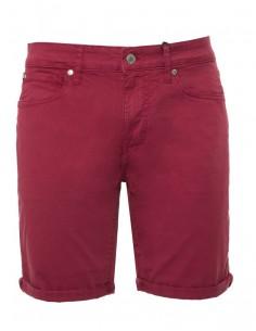 Pantalón corto Guess para hombre - burdeos