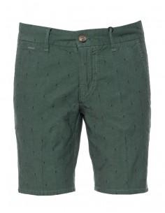 Pantalón corto Guess para hombre estampado verde