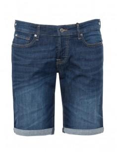 Pantalón corto denim Guess para hombre - denim oscuro