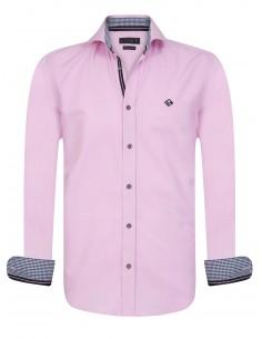 Sir Raymond Tailor camisa para hombre PIN Pink