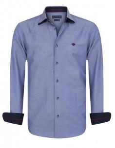 Sir Raymond Tailor camisa para hombre WHIFF navy