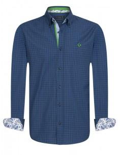 Sir Raymond Tailor camisa para hombre WHIPPY navy green
