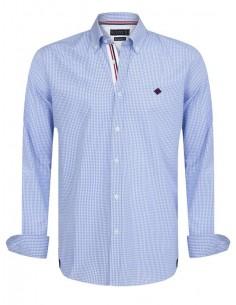 Sir Raymond Tailor camisa para hombre STAKES blue