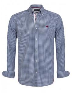 Sir Raymond Tailor camisa para hombre STAKES navy
