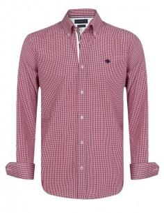 Sir Raymond Tailor camisa para hombre STAKES red