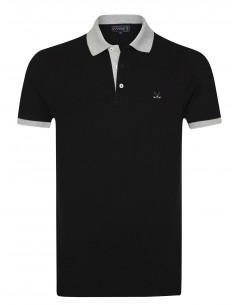Polo Sir Raymond Tailor para hombre FALCON black