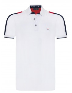 Polo Sir Raymond Tailor para hombre MOSTY white