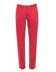 Gant - pantalón chino para hombre slim fit - red