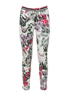 Guess by Marciano pantalón con floral white