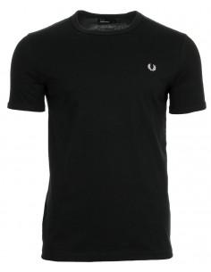 Fred Perry camiseta heritage - negra