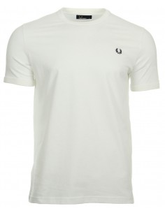 Fred Perry camiseta heritage - blanca