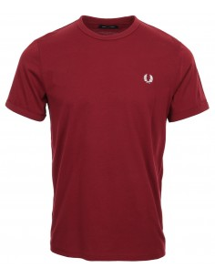 Fred Perry camiseta heritage - granate