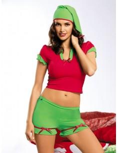 Conjunto Sexy Elfo
